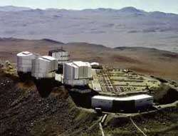 Le VLT (Very Large Telescope)