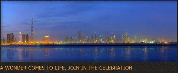 Un immense centre commercial s'étale au pied de la tour Burj DubaI. © Emaar Properties