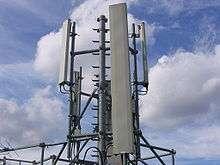 Les antennes-relais nécessaires aux téléphones mobiles ne seraient pas source de risque de cancer. © ~Pyb / Licence Creative Commons