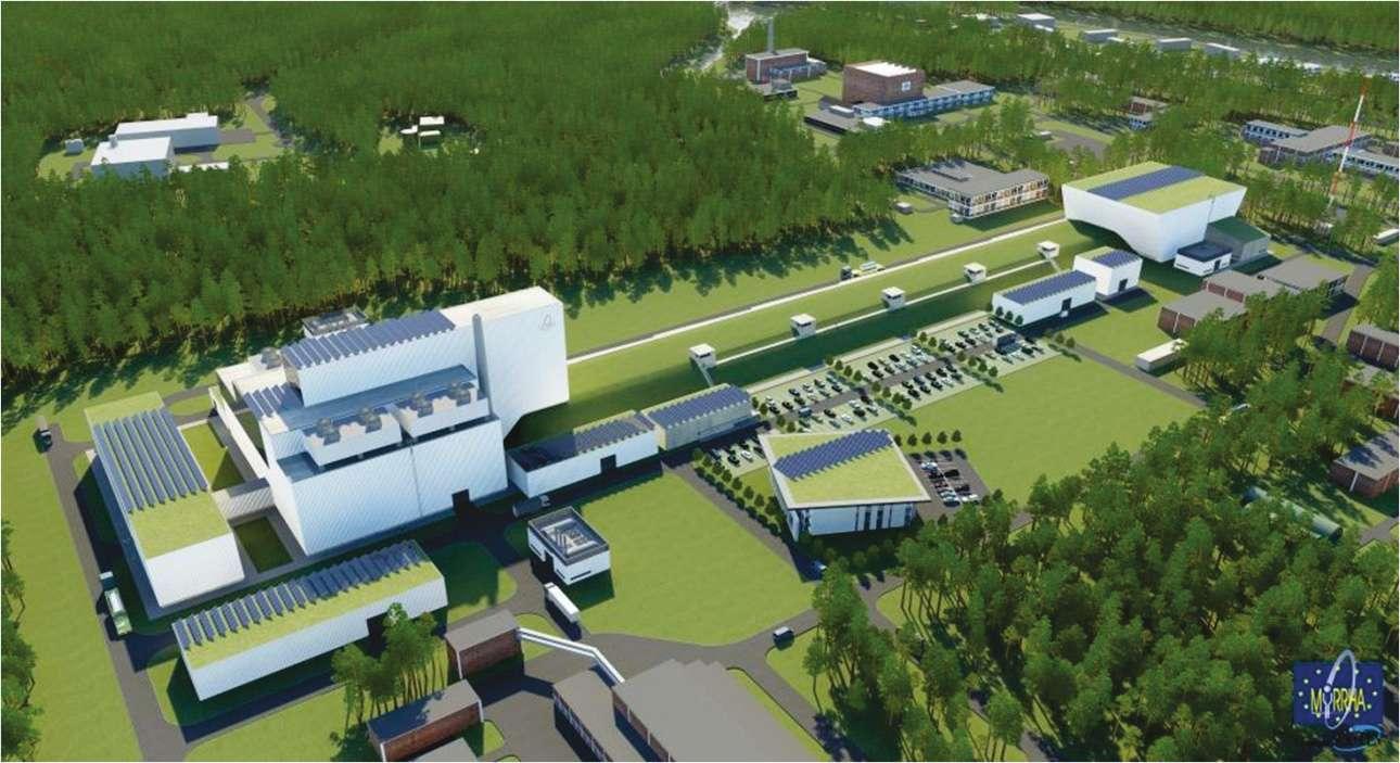 Le projet H2020 Myrte comprend le développement du réacteur de recherche Myrrha et son accélérateur. Le but : démontrer que la transmutation des déchets nucléaires (c'est-à-dire la transformation d'un élément chimique en un autre) est possible. © CNRS