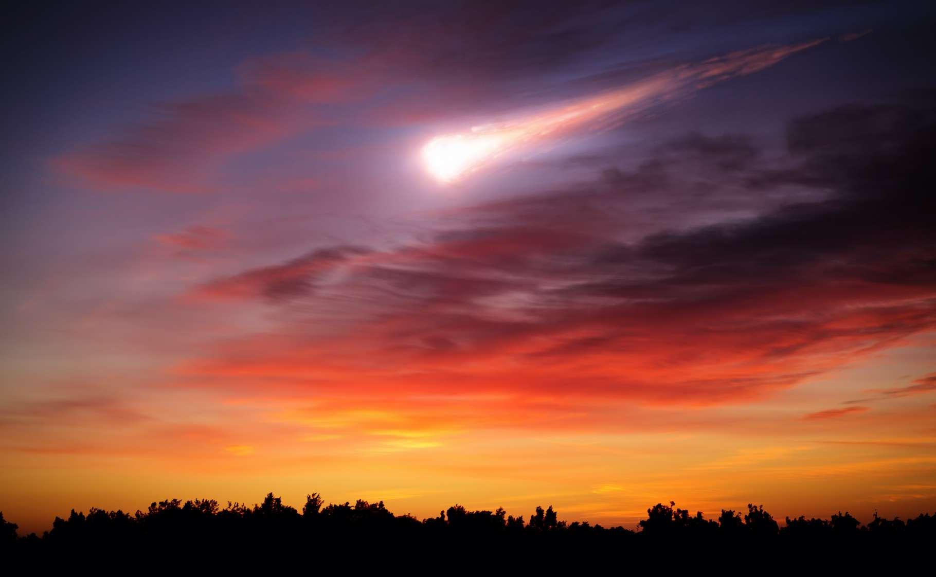 Une boule de feu a traversé le ciel australien en ce début de semaine. Les astronomes penchent pour un phénomène naturel. © Tryfonov, Adobe Stock