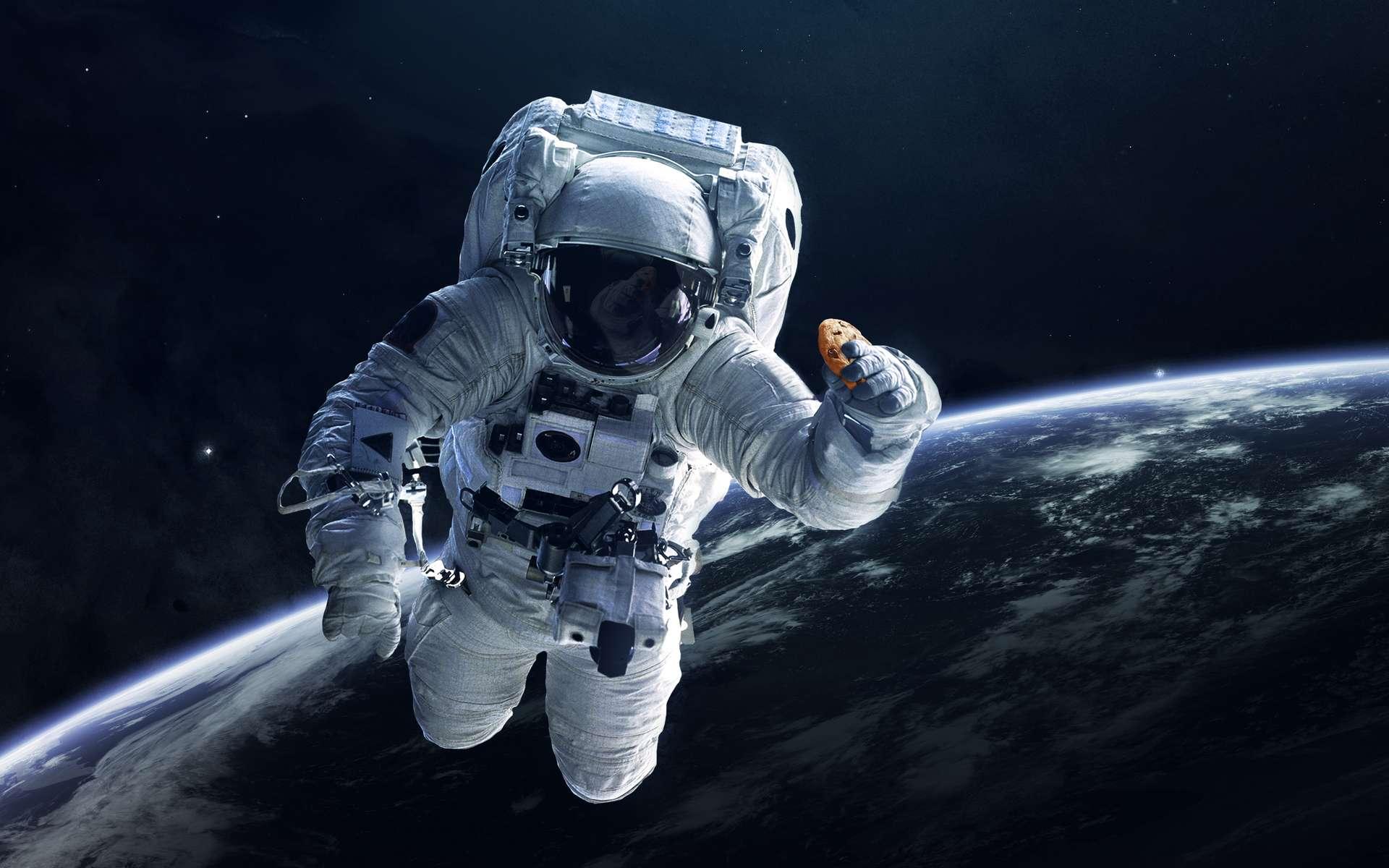 Les astronautes de l'ISS vont pouvoir cuisiner des cookies au chocolat frais en microgravité. © DoubleTree by Hilton/Nasa