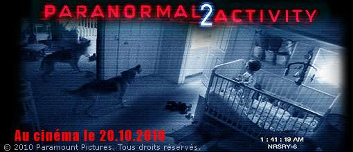 "Concours ""Paranormal Activity 2"" : les gagnants"