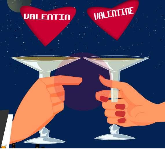 Envoyez une e-card pour la Saint-Valentin ! © Futura-Sciences