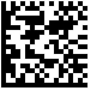Un Flashcode : ce code à barres 2D est destiné à être photographié par un smartphone et décodé par un logiciel (de la société Mobile Tag et réservé à certains opérateurs de téléphonie). © DR