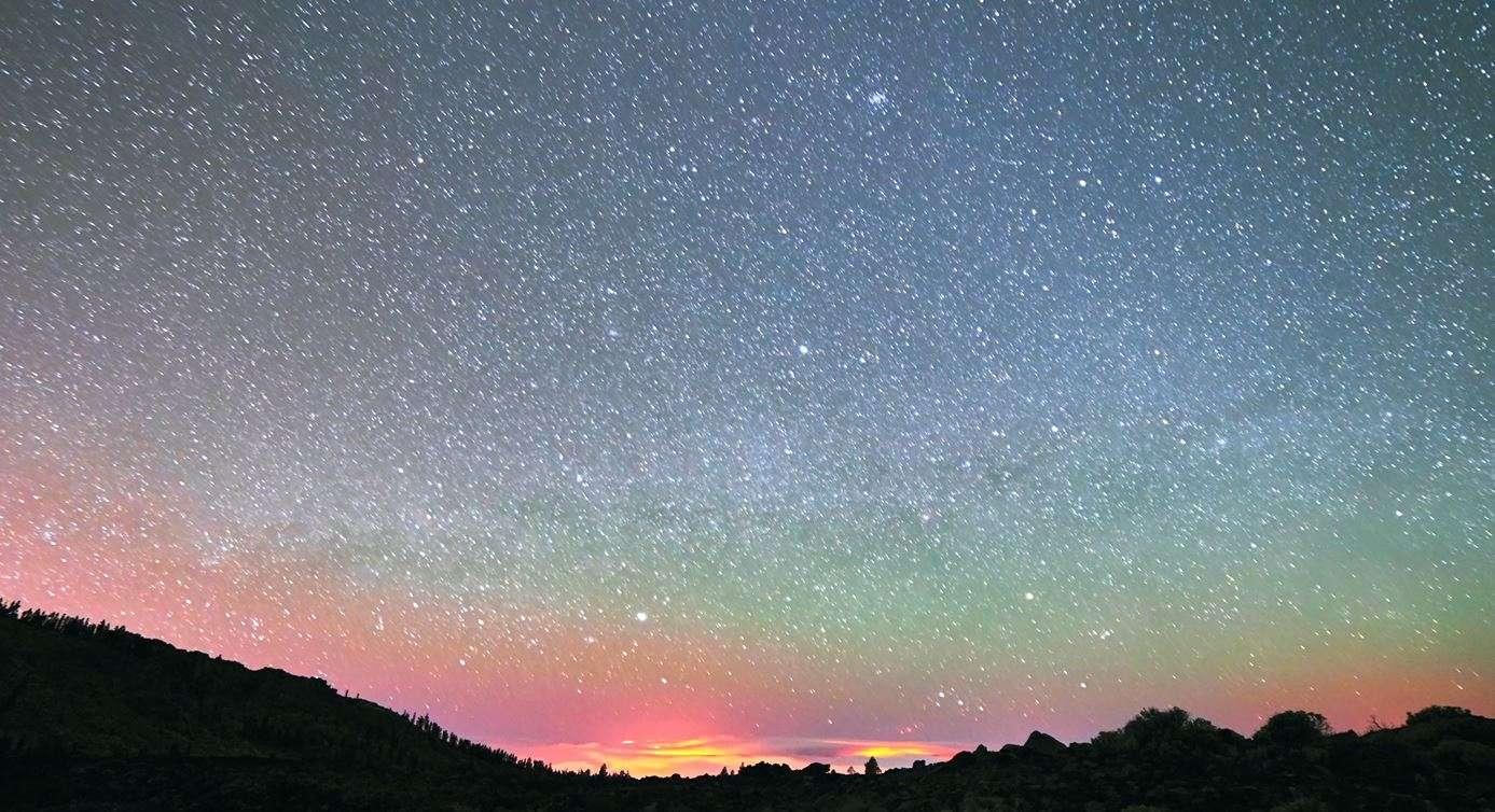 L'airglow, un ciel étoilé de couleur !