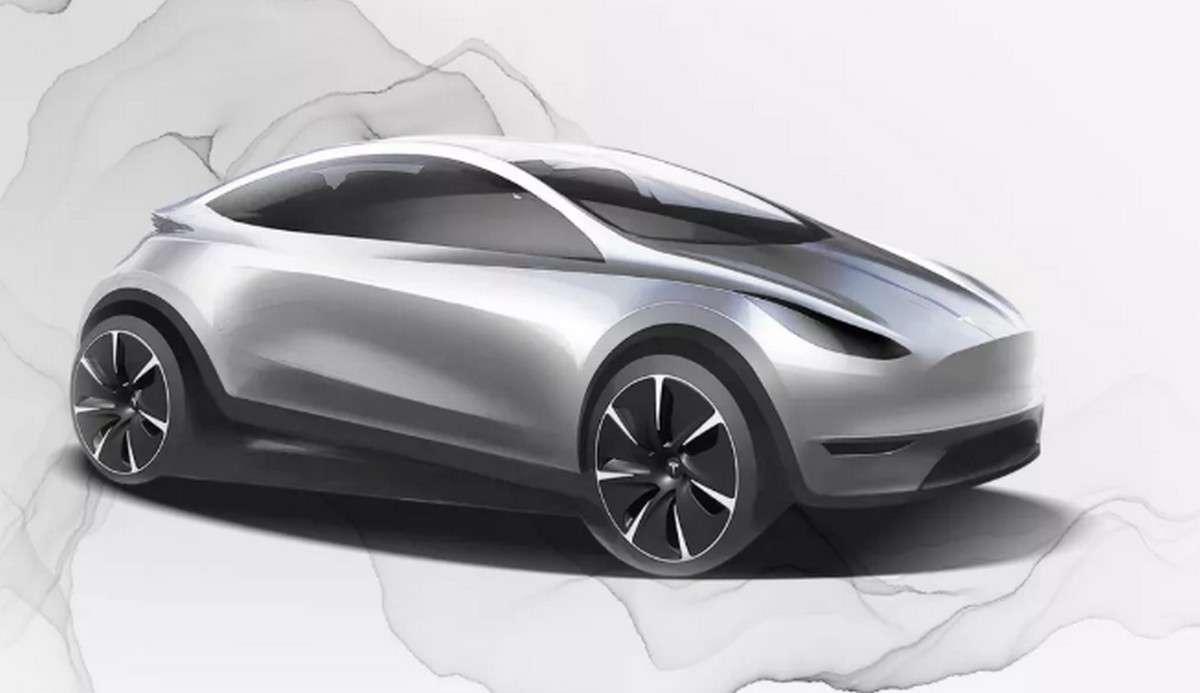 Cette esquisse de Tesla est utilisée sur la page de recrutement pour le nouveau centre de design que le constructeur va installer en Chine. © Tesla