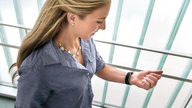 Les bracelets connectés auraient un impact positif sur la santé des utilisateurs, plus motivés à faire des exercices. © Microsoft