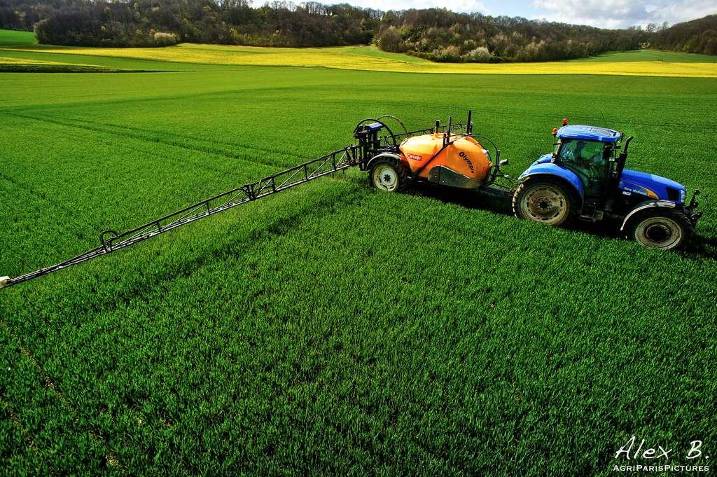 En 2011/2012, 5,7 millions de tonnes d'engrais azotés ont été utilisées en France (chiffre des Chambres d'agriculture). © AgriParisPictures, Flickr, cc by sa 2.0