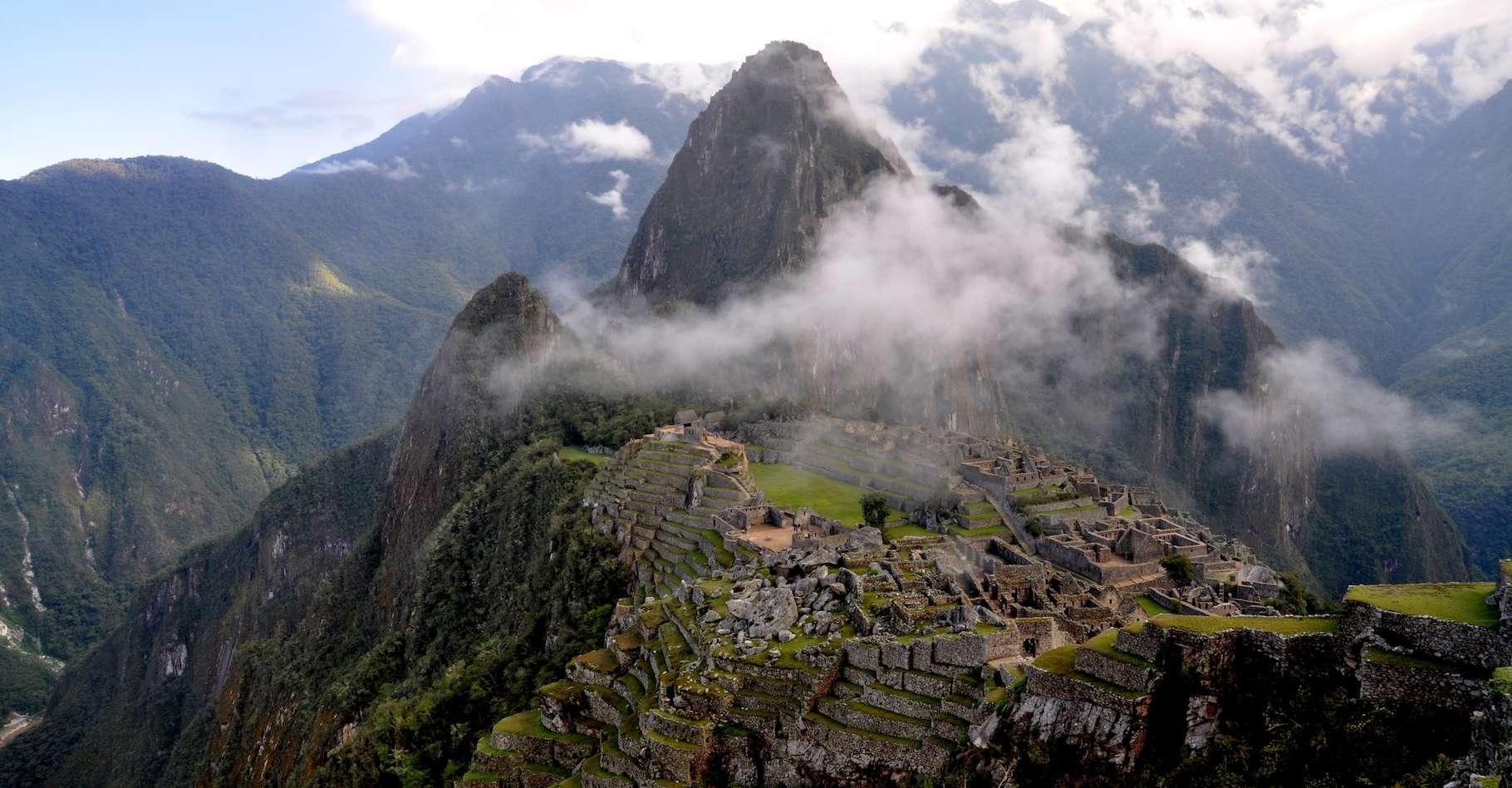 Le site du Machu Picchu n'a pas été choisi par hasard! © Rualdo Menegat, Université fédérale du Rio Grande do Sul