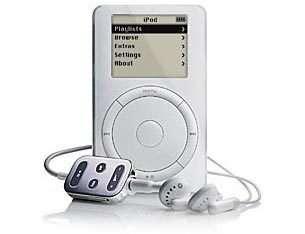 L'iPod, l'un des grands succès d'Apple.