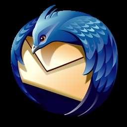 Thunderbird (ici son logo officiel), un logiciel de messagerie plutôt efficace.