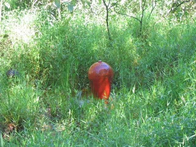 La cloche d'air du bélier hydraulique, solution de pompage écologique. Il s'agit d'une solution particulièrement adaptée aux pays en voie de développement. © Jonathaneo, Wikimedia Commons, DP