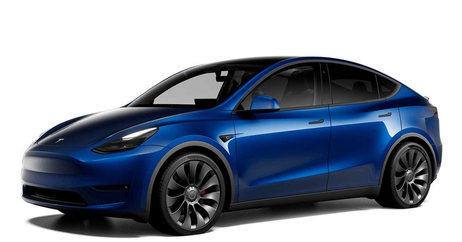 Le Tesla Model Y Grande autonomie est disponible en commande en France. © Tesla