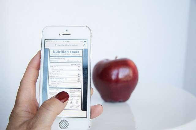 Certaines applications santé pour smartphones apportent des informations sur une alimentation saine. © www.foodfacts.com, Flickr, CC by sa 2.0