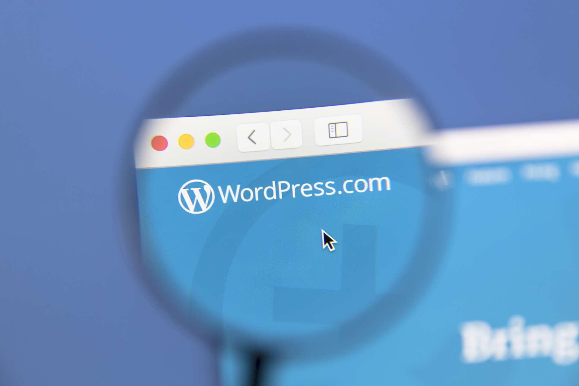 Apprenez à maîtriser le CMS WordPress et créez vos propres sites internet. © IB Photography, Adobe Stock