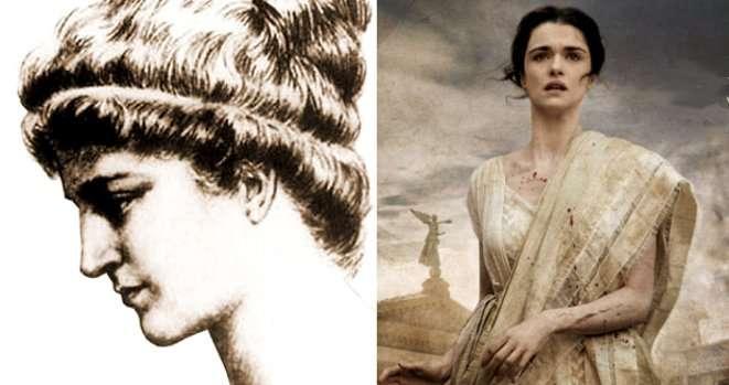 Hypathie d'Alexandrie, philosophe et mathématicienne grecque. En 2009, le film Agora lui est consacré. © Domaine Public/Alejandro Amenabar