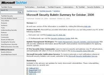 Une livraisons de dix bulletins dont six sont jugés critiques par Microsoft, à installer en priorité.