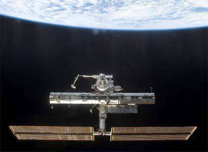 La station spatiale internationale dont l'avenir est incertain...
