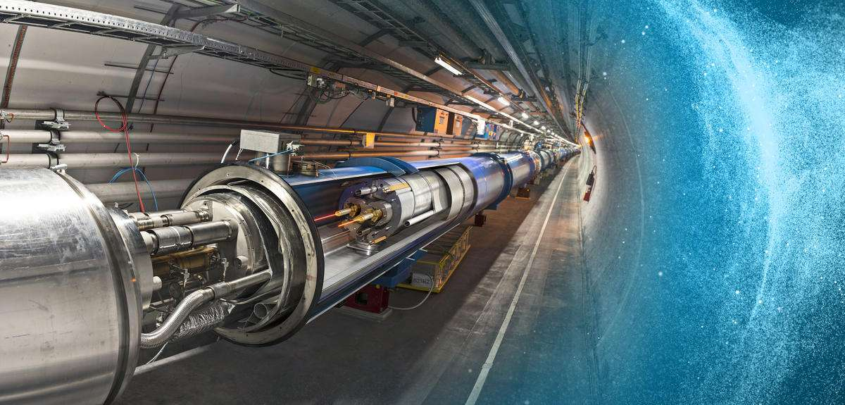 Vendredi 25 mars 2016, le LHC, le plus puissant collisionneur de particules jamais réalisé par l'Homme, s'est à nouveau éveillé. © Cern