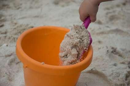 Bac à sable. © Pierre Blanchon