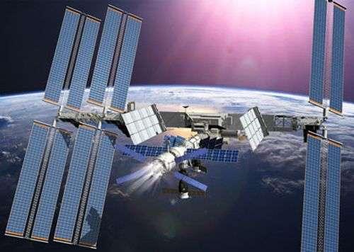 Rehaussement d'orbite au moyen de l'ATV (Vue d'artiste). Crédit : ESA / Ducros David, 2007