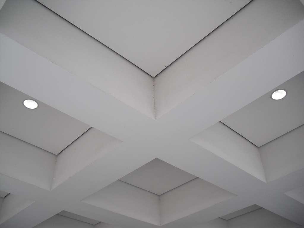 Un plafond chauffant va assurer une chaleur plus homogène qu'un radiateur ou qu'un plancher chauffant. © Local Louisville, Flickr, cc by sa 2.0