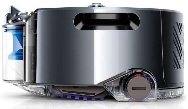 Dyson dit avoir passé plus de quinze ans et 100.000 heures à mettre au point son robot aspirateur. Le 360 Eye est doté d'un système de navigation et d'un moteur électrique inédits qui le rendraient beaucoup plus performant que ses rivaux. À juger sur pièce, une fois que le produit sera disponible l'année prochaine. © Dyson