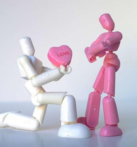 L'amour est un très bon antidouleur, mais ne se prend malheureusement pas en cachets ! © Capt Kodak, Flickr, CC by-nc 2.0