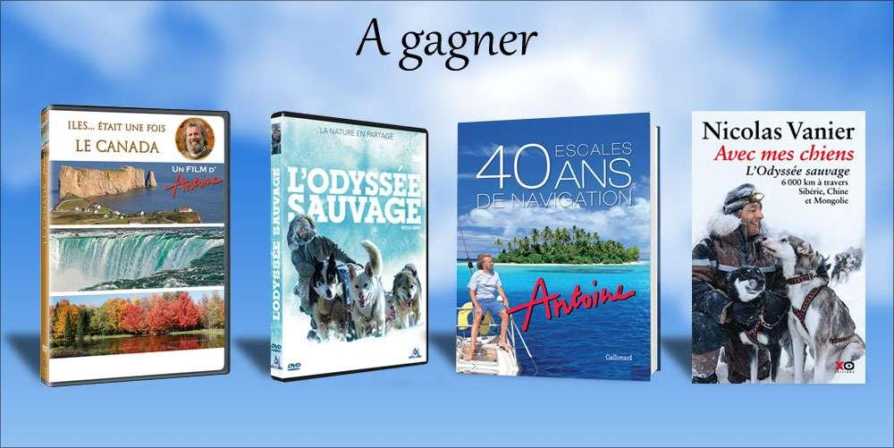 Pour ce concours de fin d'année, Antoine et Nicolas Vanier vous proposent de gagner leurs derniers livres et DVD. © Futura-Sciences