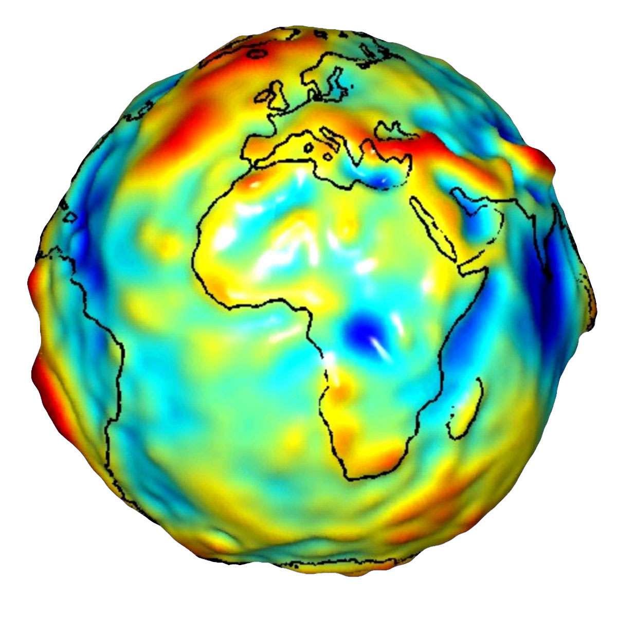 Les satellites de Grace sont utilisés pour mesurer la gravité tout autour de la Terre. Les résultats fournis par ce système d'étude sont 10 à 50 fois plus précis par rapport à toutes les autres techniques utilisées auparavant. © University of Texas Center for Space Research and Nasa