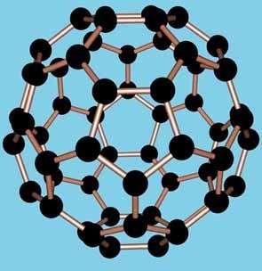 Molécule de fullerène C60