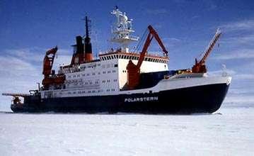 Le navire océanographique Polarstern