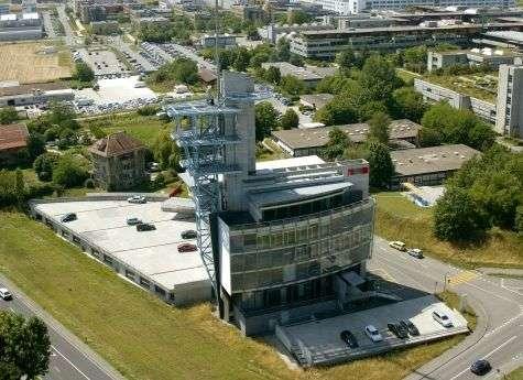 Vue aérienne des installations de l'EPFL. Crédit EPFL