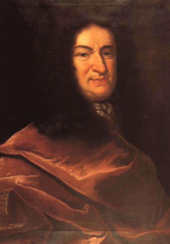 Gottfried Wilhelm von Leibniz, le grand mathématicien précurseur de l'informatique et des calculs en nombre binaire. © University of Massachusetts Lowell