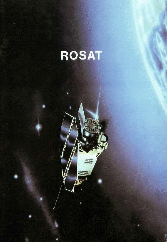 Rosat, un télescope d'observation des rayons X, pourrait retomber sur Terre entre le 20 et le 25 octobre. © DLR
