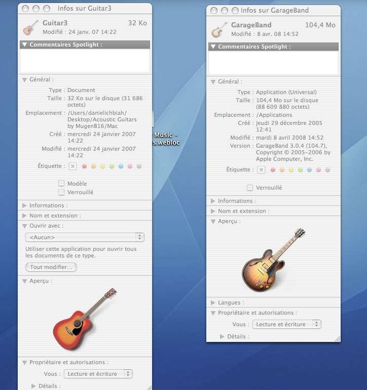 Changer l'apparence d'une icône système - Crédits : Futura-Sciences
