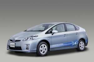 La Toyota Prius rechargeable dite Plug-in Hybrid. © DR