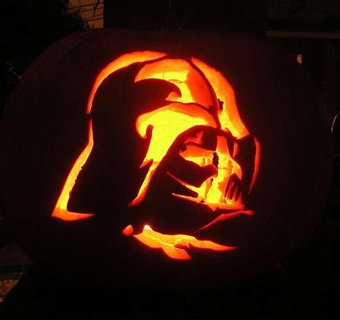 Dark Vador en citrouille d'Halloween... © revjim5000 CC