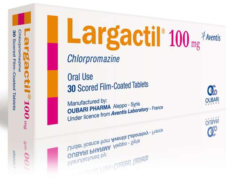 La chlorpromazine, un antipsychotique utilisé dans le traitement de la schizophrénie et des troubles bipolaires, pourrait avoir une efficacité contre le coronavirus du Covid-19. © Sanofi-Aventis