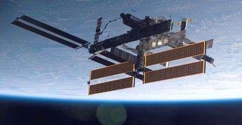 La Station Spatiale Internationale vue depuis Atlantis le 17 septembre dernier.