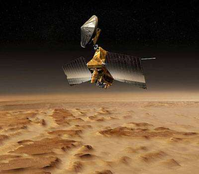 Mars Reconnaissance Orbiter. Crédit NASA
