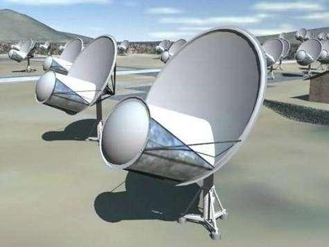 Projet d'éléments du Square Kilometer Array (SKA)