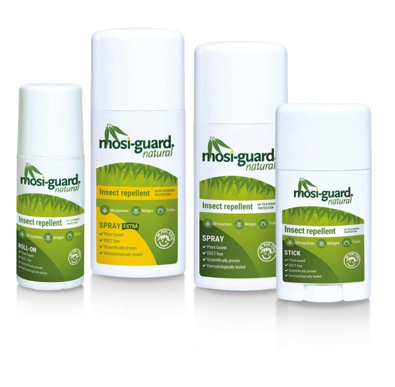 Le Mosi-guard est un insecticide à base de Citriodiol. Il assurerait une protection de quatre heures contre le coronavirus. © Mosi-Guard