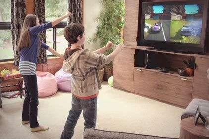 En interprétant un rictus, un hochement de la tête ou l'intonation de la voix, Kinect 2 saura détecter l'humeur du joueur et de s'adapter à ses émotions. © Microsoft