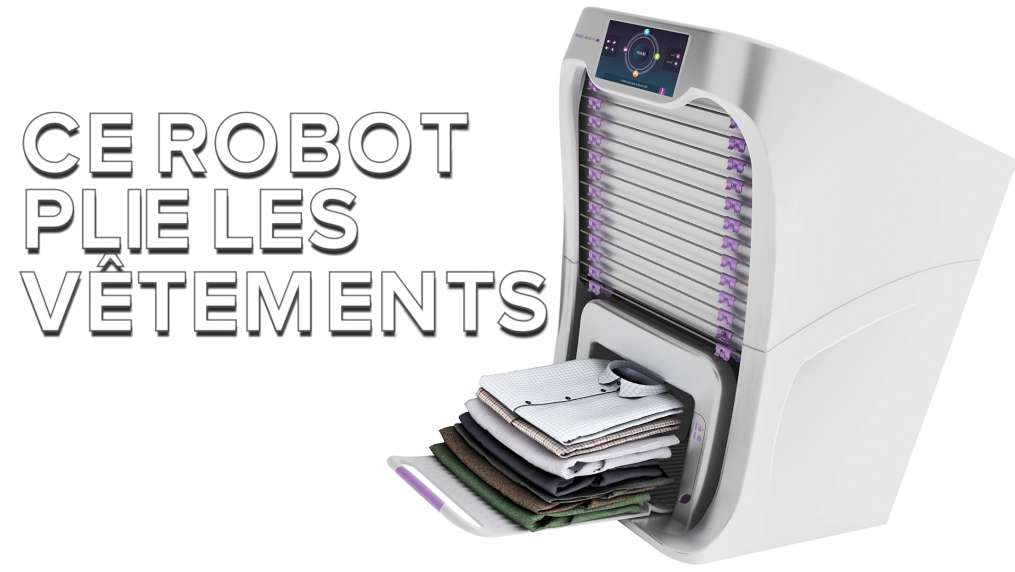 Foldimate, un robot qui plie les vêtements à votre place