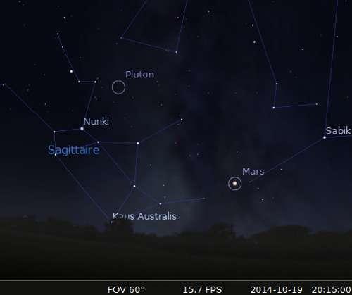 La comète C/2013 A1 Siding Spring en rapprochement avec Mars