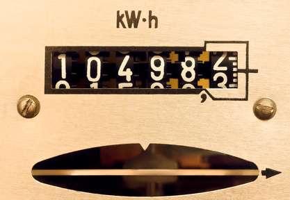 Compteur électrique. © Elridge