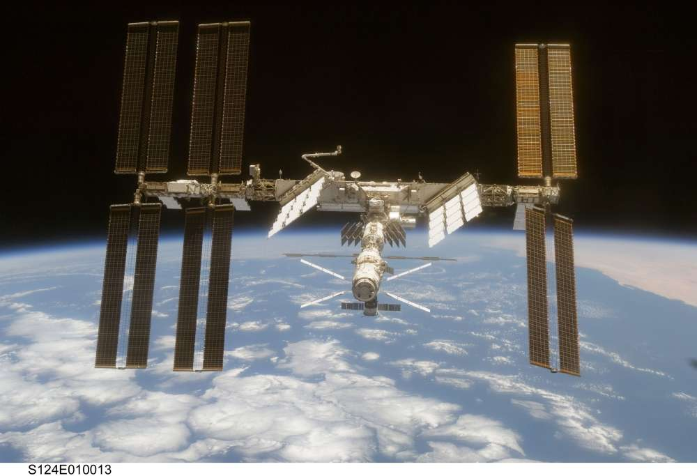 La Station spatiale internationale ne court aucun risque... © Nasa