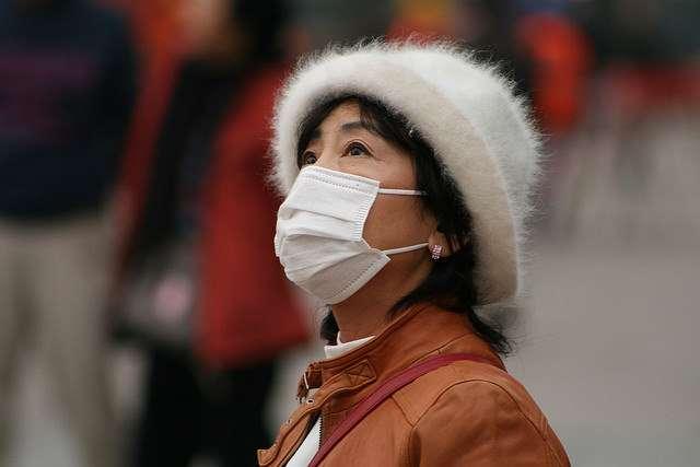 En Chine, la pollution de l'air serait responsable de la mort de 1,6 million de personnes par an, soit 4.000 par jour. Les concentrations en particules fines sont particulièrement importantes à l'est du pays. © Global Panorama, Flickr, CC by-sa 2.0